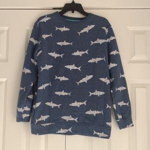 Old Navy Shark Sweatshirt, XXL Boys